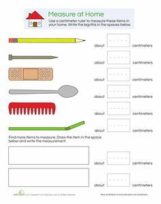 World of Measurement - 1st Grade Worksheets | Education.com