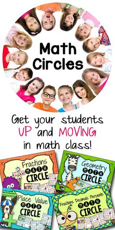 Get Your Students Up and Moving in Math Class - math circles