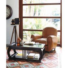 ACAPULCO woollen woven rug, multicoloured 140 x 200cm | Maisons du Monde