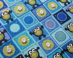 Would love to make this one!!!!! - Ravelry: Frog Frenzy pattern by Marken of The Hat & I