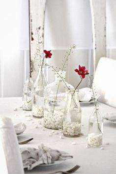 Una manera sencilla y delicada de decorar, sin gastar mucho