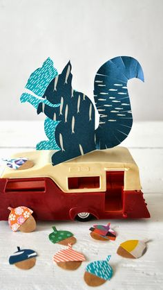 ingthings: DIY Paper Squirrel