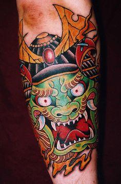 f29faf3fc64df Japanese Tattoo Art Traditional Japanese Tattoos, Traditional Tattoo Art,  Japanese Demon Tattoo, Oriental