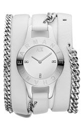 AX Armani Exchange Double Wrap Watch, 30mm (Online Only)