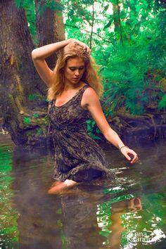 Ph: Lana Ksandrius Model: Maria Stape #fashion #blond #photosession #green #jungle #beautifull #girl #sexy #hot