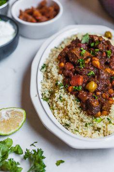 Moroccan Lamb Tagine Morrocan Lamb Stew, Moroccan Beef, Morrocan Food, Moroccan Dishes, Beef Tagine Recipes, Lamb Tagine Recipe, Lamb Recipes, Cooking Recipes, Healthy Recipes