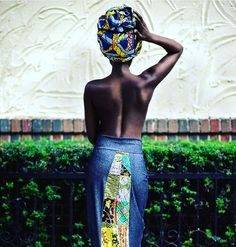 African Prints in Fashion - Oh lala - so stunning! By @islandboiphotography |...