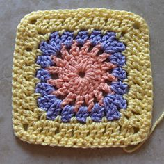 Ravelry: Granny Square 76 pattern by Martha Brooks Stein