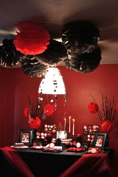 Twilight Party! This should be our Christmas party this year!