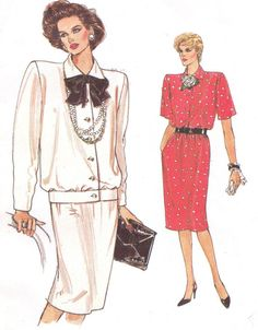 1980s Very Easy Very Vogue Sewing Pattern 9485 by CloesCloset, $10.00