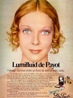 Dr N.G Payot Cosmetics Ad, 1971