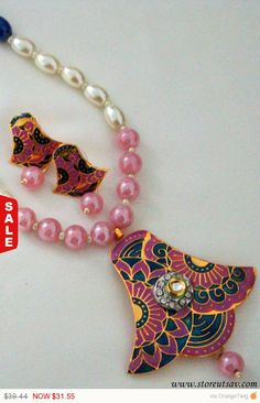 SALE  FLAT 20% OFF Necklace Set Handmade with by StoreUtsavFashion
