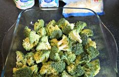 Keto Broccoli Casserole Recipe - Easy 4 Ingredient low carb recipes - great idea for dinner or Ketogenic friendly side dish. With cheese & sour cream. Easy Broccoli Recipes, Veggie Recipes, Keto Recipes, Dinner Casserole Recipes, Keto Casserole, Cheesey Broccoli, Baked Garlic Parmesan Chicken, Califlower Recipes, Casserole Recipes