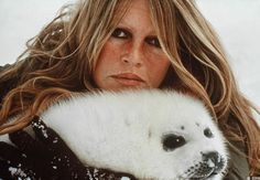 Brigitte Bardot ✾ and her fight for the defense of animals.