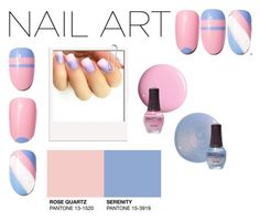 """""""Pastel Nails"""" by hybrid-rainbow ❤ liked on Polyvore featuring beauty"""