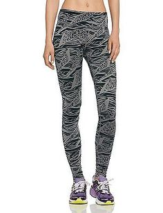 Small, grey - Go For Gunmetal, Zumba FitnessáûáWomen's Cloth Leggings Funky Perf