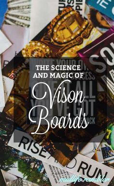 I'm a huge believer in Vision Boards as a tool for setting down big goals and, yes, attracting big changes. Everyone has a personal way of creating their vision boards -- this is the way that works for me.
