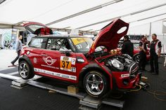 Behind the scenes and under the bonnet of a race-ready John Cooper Works MINI.