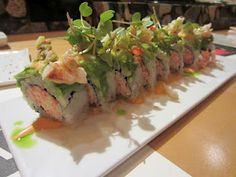 Lobster Roll at Sushi Sake...OK! Lobster! And sushi!? Really!? This is my ultimate favorite roll!!:))