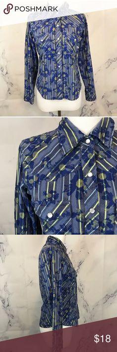 Patagonia Rhythm Floral Button Down Shirt EUC No trades or try ons Patagonia Tops Button Down Shirts