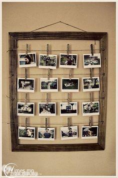 Fotos para mamá con marco y todo!
