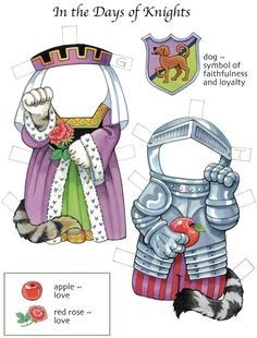 Dover Lucky Cats Paper Dolls Costume 2