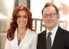 Arlene in True Blood, Ben Linus in Lost… married in real life:Carrie Preston and Michael Emerson at the Season 5 premiere of True Blood