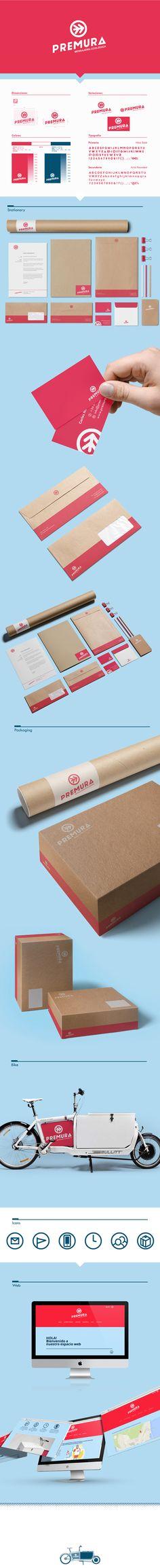 Unique Branding Design, Premura #Branding #Design (http://www.pinterest.com/aldenchong/)