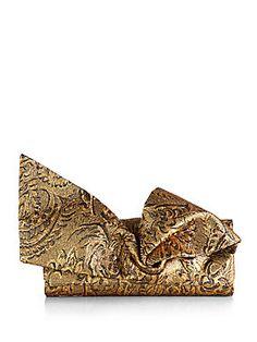 prada saffiano metallic lux frame clutch