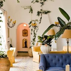 We typically spend all of January doing research for new brands and pop-up ideas. Look at this dreamy interior we found via @heyokreal