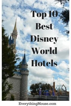 Top 10 Disney World Resort Hotels   There are so many Disney World hotel resorts to choose from that it can get overwhelming when deciding where to stay for your vacation. Which Disney World h…