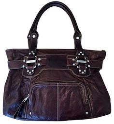 B. Makowsky Glove Leather With Animal Print Interior Shoulder Bag. Get one of the hottest styles of the season! The B. Makowsky Glove Leather With Animal Print Interior Shoulder Bag is a top 10 member favorite on Tradesy. Save on yours before they're sold out!