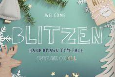 Blitzen Display Font ~ Display Fonts on Creative Market
