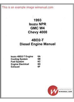 ISUZU D-MAX 2011 4JJ1 ENGINE SERVICE MANUAL.pdf (PDFy mirror ...