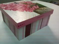 1 Decorative Boxes, Diy Crafts, Paper, Projects, Handmade, Beautiful, Home Decor, Collagen, Stencil