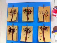 More Than ABC's and 123's: Fine motor fun painting with nature.