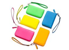 Jewels+Mints: FREE JewelMint Neon Zip Wallet With Purchase: 5 Bright Colors Available!