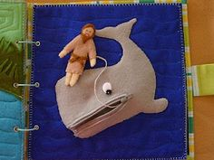 great Bible story felt book...maybe this next year when i learn how to sew i can make this for the boys!