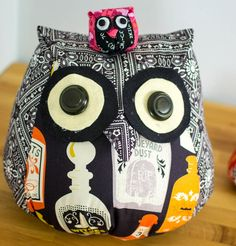 Pinterest UnTutorial Solved... My Adorable Owls! — SewCanShe | Free Daily Sewing Tutorials