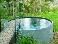Concrete tank pool http://www.renovateforum.com/f180/above-ground-pool-102133/