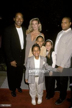 & Nicole with kids Oj Simpson, American Crime Story, Fall From Grace, World Geography, True Crime, Children, Kids, Hollywood, Shit Happens