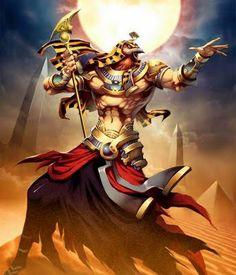 Rá ou Ré  é o deus do Sol do Antigo Egito