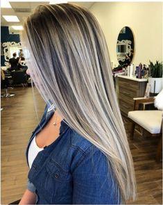 Balayage ombré hair : les meilleurs modèles tendance 2018 | Coiffure simple et facile