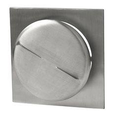 Tallriksventil kvadrat 175 mm från Byggfabriken