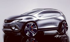 #cardesign #cars #suv #concept #conceptcar #sketch #carsketching #drawing #digitalart #digitalsketch #digital #Photoshop #honda #asia #japan #design #virtual #passion #enjoy #funtime #cool #family #creative #poland #studio #free #instafollow by lukaszmyszynski