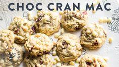 White Chocolate Chip Cranberry Macadamia Cookies - Honeysuckle