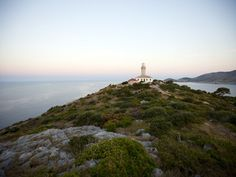 Struga Lighthouse, Lastovo Island on the Dalmatian Coast.  Read this article to learn about the pomalo - the Dalmatian philosophy of taking it easy.