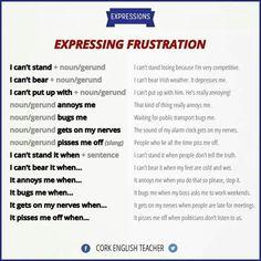 Forum | ________ Learn English | Fluent LandExpressing Frustration | Fluent Land