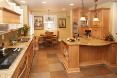 K.G. Stevens- Granite Kitchen, Granite Countertops, Kitchen Remodeling, Kitchen Countertops, Kitchen Design