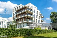 Apartment Block In Berlin Stock-Foto | Getty Images